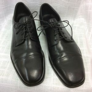 Men's Florsheim Black Dress Shoes Size 10 1/2